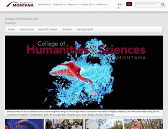 hs.umt.edu screenshot
