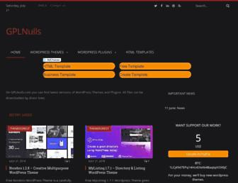 gplnulls.com screenshot