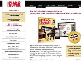 pianobuyer.com screenshot