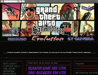 gtaevolution2byoliveira.blogspot.com screenshot