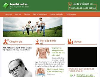 benhtri.net.vn screenshot
