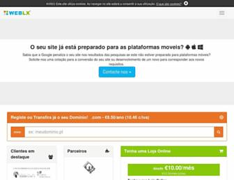 weblx.pt screenshot