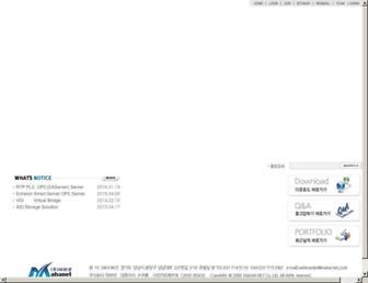 maha-net.co.kr screenshot