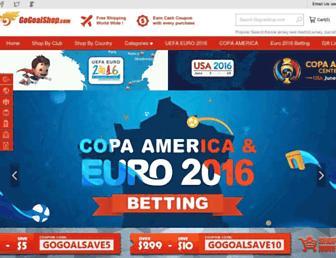 gogoalshop.com screenshot