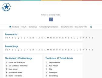 lyrics.alternatifim.com screenshot