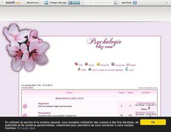 psychologiechezvous.xooit.fr screenshot
