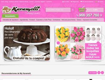 mykaramelli.com screenshot