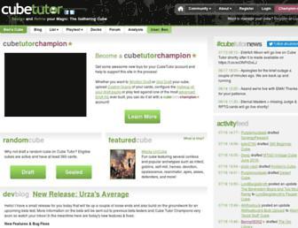 cubetutor.com screenshot