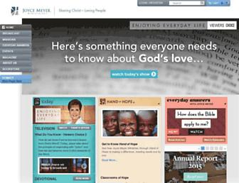 Thumbshot of Joycemeyer.org