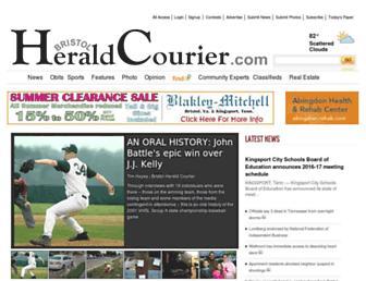 heraldcourier.com screenshot