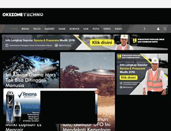 techno.okezone.com screenshot