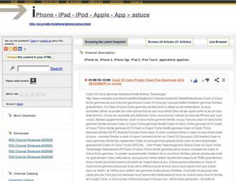 astuce96.rssing.com screenshot