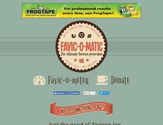 favicomatic.com screenshot