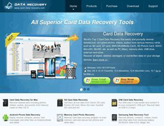 card-data-recovery.com screenshot