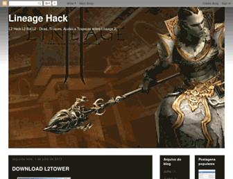 lineagehack.blogspot.com screenshot