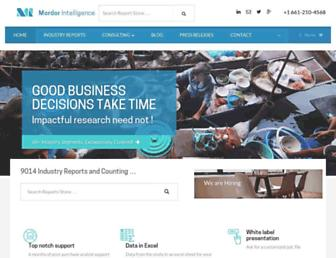 mordorintelligence.com screenshot