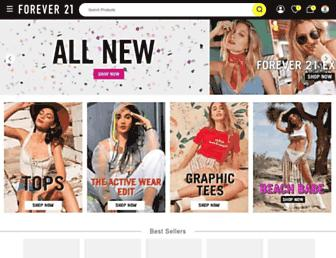 forever21.in screenshot