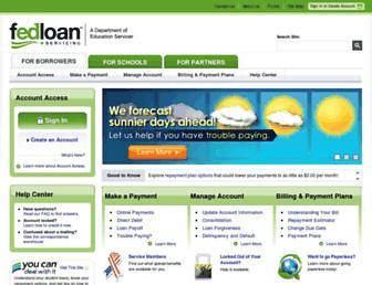 Thumbshot of Myfedloan.org
