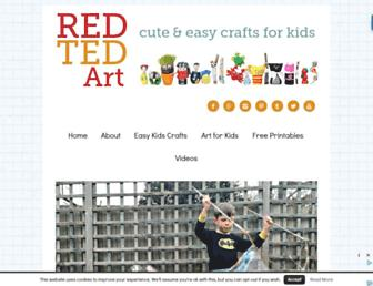 Thumbshot of Redtedart.com