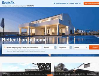 Thumbshot of Rentalia.com