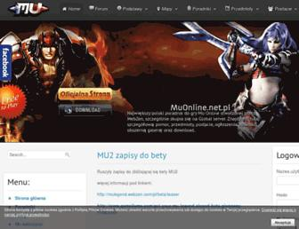 muonline.net.pl screenshot