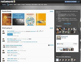 notemonk.com screenshot