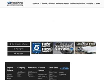 subarupower.com screenshot