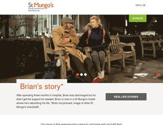 mungos.org screenshot