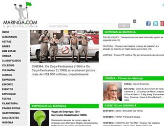maringa.com screenshot