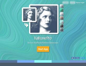 halftonepro.com screenshot