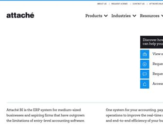 attachesoftware.com screenshot
