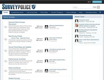 forum.surveypolice.com screenshot