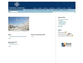 hamilton.ie screenshot