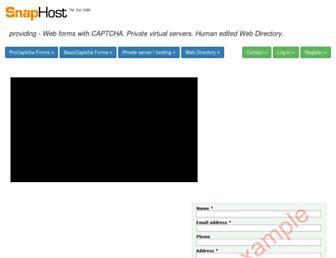Thumbshot of Snaphost.com
