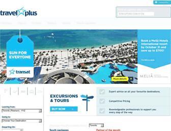 travelplus.ca screenshot