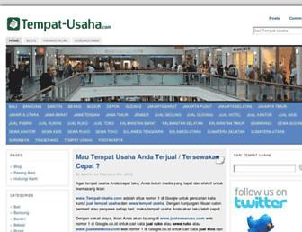 tempat-usaha.com screenshot