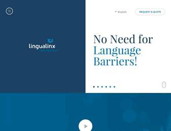 lingualinx.com screenshot