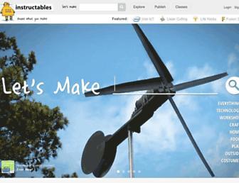 m.instructables.com screenshot
