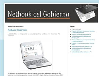 netbookdelgobierno.blogspot.com screenshot