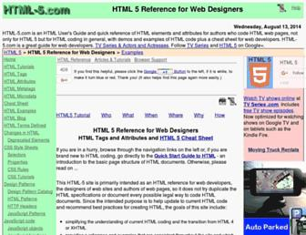 Thumbshot of Html-5.com