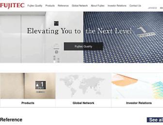 fujitec.com screenshot