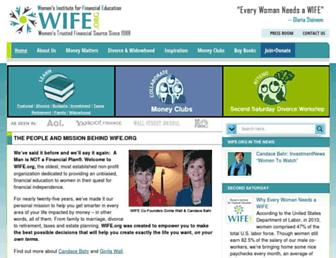 Thumbshot of Wife.org