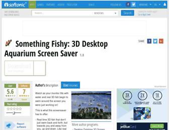 something-fishy-3d-desktop-aquarium-screen-saver.en.softonic.com screenshot