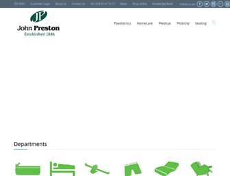 johnpreston.co.uk screenshot