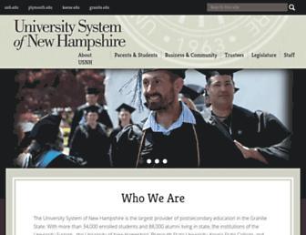 usnh.edu screenshot