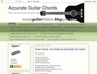 musicguitarstation.blogspot.com screenshot