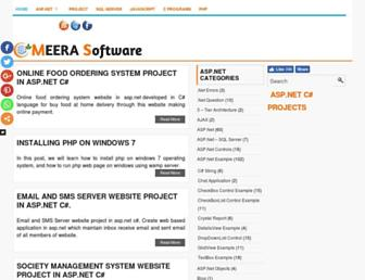 meeraacademy.com screenshot