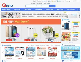 qoo10.com screenshot