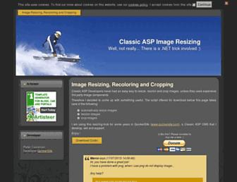 imageresizing.quickersite.com screenshot