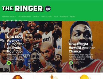 theringer.com screenshot